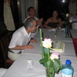Nous avons eu la chance d'organiser un anniversaire surprise en juillet 2008 à Braga